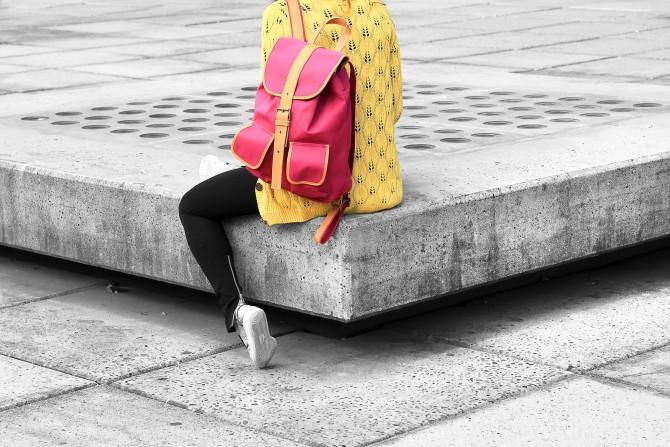studerende rygsæk